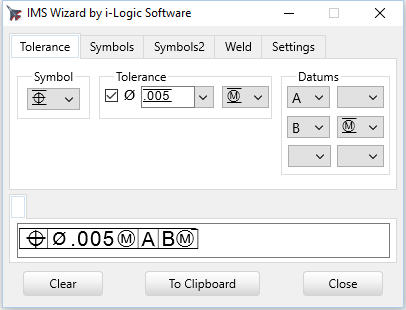 Geometric Tolerancing Wizard